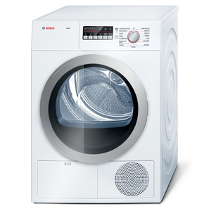 Bosch Axxis 4.0 cu. ft. Condensation Electric Dryer - White