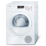 Bosch Ascenta 4.0 cu. ft. Condensation Electric Dryer - White