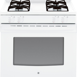 GE 4.8 cu. ft. Gas Range - White