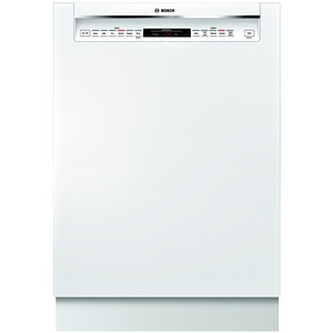 "Bosch 24"" 800 Series Built-In Dishwasher - White"