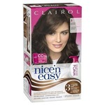 Clairol Nice 'n Easy Foam Hair Color 5 Medium Brown 1 Kit (packaging may vary)