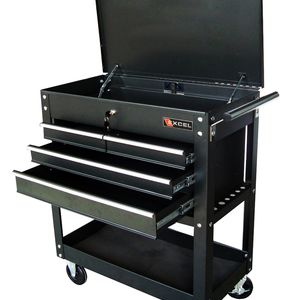 Excel four drawer tool cart