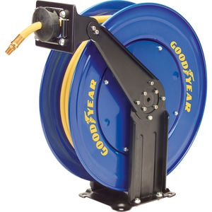"Goodyear 3/8"" X 50' RETRACTABLE AIR HOSE REEL - GOODYEAR"