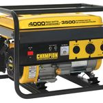 Champion Power Equipment 46533 3500/4000 Watt Portable Gas Generator RV Ready CARB