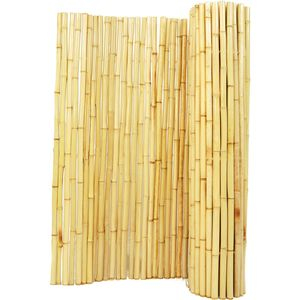 Backyard X-Scapes Rolled Bamboo Fencing - 1 in. D x 6 ft. H x 8 ft. L