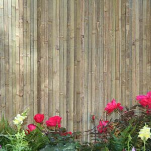 "GardenPath 1/2"" O.P. Bamboo Fence In-A-Bag 6'Hx15'L"