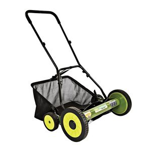 Sun Joe Mow Joe 20 Inch Manual Reel Mower with Catcher - MJ502M