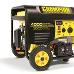 Champion Power Equipment 46565 3500/4000 Watt Portable Gas Generator Wireless Remote Electric Start RV Ready (not CARB)