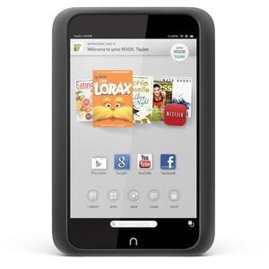Barnes & Noble Nook HD BNTV400RB 16GB 7in Tablet CPO SmokeGrey Refurbished