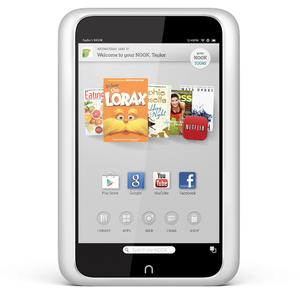 Barnes & Noble Nook HD BNTV400WRB 16GB 7in Tablet CPO White Refurbished