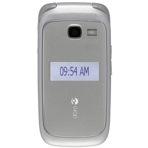 Consumer Cellular Doro 618 Senior-Friendly Cell Phone - Silver