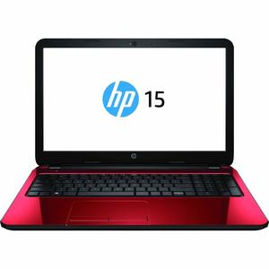 "HP 15.6"" Display AMD A6 Processor Red Laptop Computer"