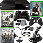 Microsoft Xbox One Asassin's Creed Holiday Bundle with Destiny & 8 in 1 Kit