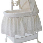 Delta Children Gliding Bassinet
