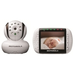 Motorola Digital Video Baby Monitor w/ 3.5 Inch Color - White
