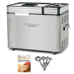 Cuisinart CBK200 2-Pounds Convection Automatic Breadmaker Bundle