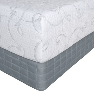 Serta Perfect Sleeper Viewcrest II Gel Memory Foam Queen Mattress Only
