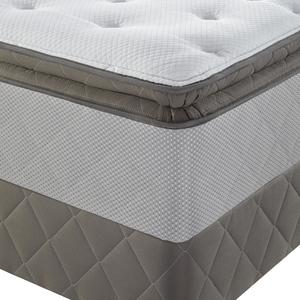 Sealy Posturepedic Pasadena II, Cushion Firm Euro Pillowtop, Queen Mattress Only