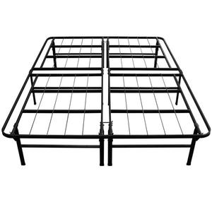 Night Therapy Deluxe Platform Metal Bed Frame/Foundation, Full