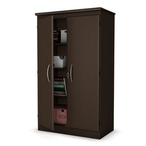 South Shore Morgan collection Storage Cabinet Chocolate