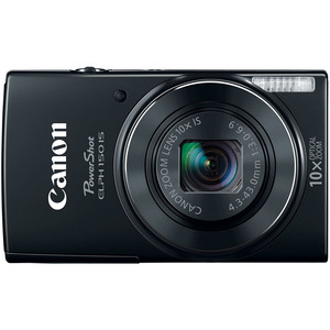 Canon PowerShot ELPH 150 IS 20 Megapixel Digital Camera - Black