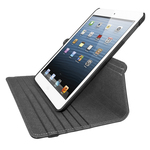 iHome iPad® Mini Case Swivel Folio Black