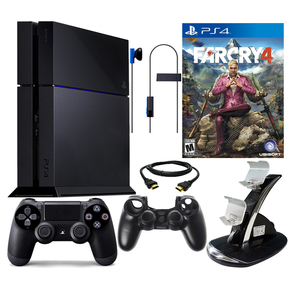Sony PS4 500GB Bundle with Far Cry 4 & Accessories