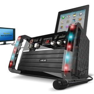 Akai KS 213 CD+G Karaoke with iPad Cradle