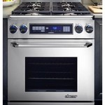 Dacor Epicure 30 In. Stainless Steel Slide-In Dual Fuel Range - ER30DSRSCHLPH