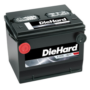 Diehard Automotive Battery Group 75 (Price with Exchange)