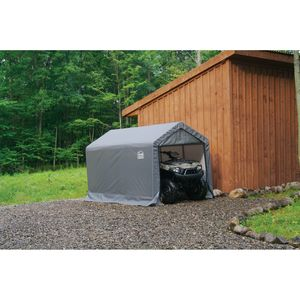 "ShelterLogic 6x10x6'6"" Shed in a Box - Grey"