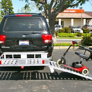 "MAXXHAUL 70275, Aluminum Cargo Carrier with 60"" Folding Ramp 52-1/2"" x 29"""