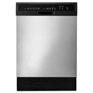 Front Control Dishwasher in Stainless Steel with Stainless Steel Tub [Color/Finish : Stainless Steel ;]