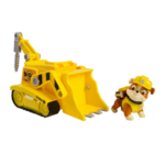 Paw Patrol Rubble's Digg'n Bulldozer, Vehicle and Figure