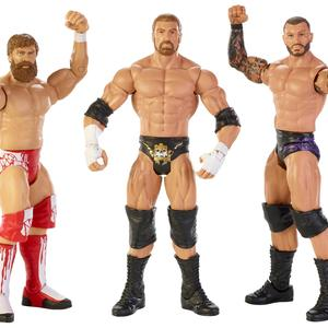 WWE Figure 3 Pack Daniel Bryan/Triple H/Randy Orton Kmart Exclusive