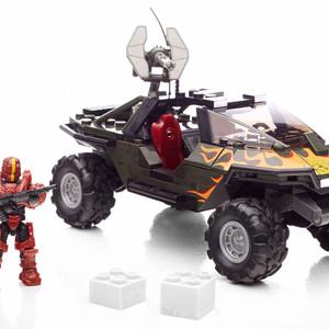 Mega Bloks Halo UNSC Flame Warthog