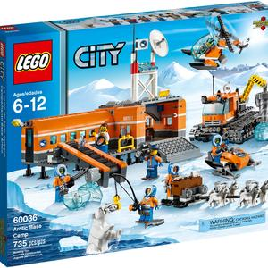 Lego City Arctic Base Camp