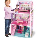 Just Kidz Just Dreamz Traditional Wooden Dollhouse