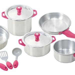 My First Kenmore - 10 Piece Pots & Pans Set by PlayGo