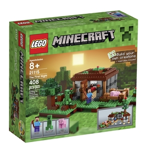 Lego Minecraft - The Frist Night