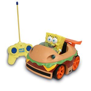 Nickelodeon Krabby Patty R/C Car - Spongebob Squarepants