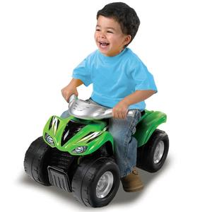 Moose Mountain Toymakers Kawasaki KFX 700 Ride-On Toy - Green