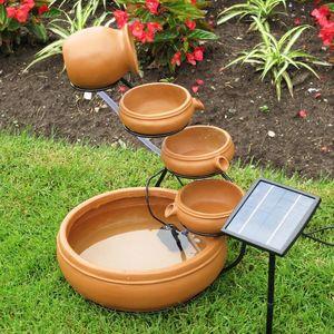 Koolscapes Solar Cascading Fountain