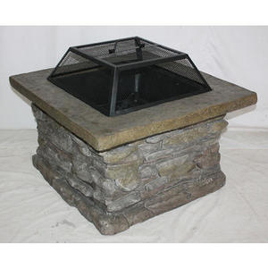 Essential Garden Slate Rock Fire Pit