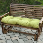 Greendale Home Fashions 51 in. Outdoor Bench Cushion, Kiwi