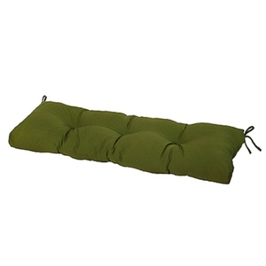 "Greendale Home Fashions 51"" Outdoor Bench Cushion, Hunter Green"