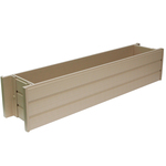 "New Age Garden™ ecoFLEX 36"" Window Box"