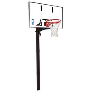 "Spalding 60"" Glass Inground"