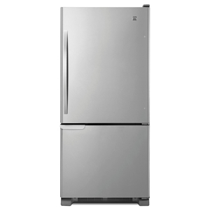 Kenmore 19 cu. ft. Bottom-Freezer Refrigerator - Stainless Steel