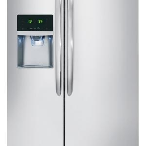 Frigidaire Gallery FGHC2331PF 22.1 cu. ft. Counter-Depth Side-by-Side Refrigerator - Stainless Steel